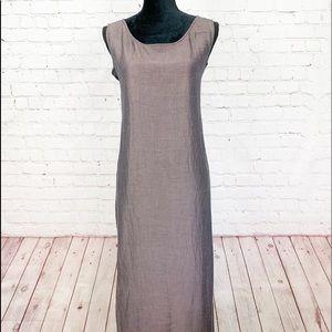 Eileen Fisher Linen/Silk Blend Dress